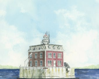 Ledge Light 5x7 print