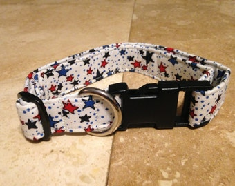 Stars Dog Collar - Adjustable