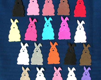 Sizzix die-cut Bunnies, rabbits x 20  Easter time