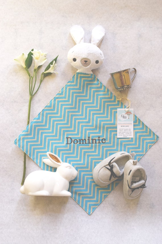 Personalized Bunny Blanket