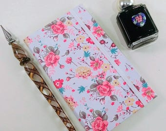 Bullet Journal / Floral Notepad / Custom Notebook / Travel Diary / Pocket Book / Custom Journal / Cute Notebook / Gift for Her
