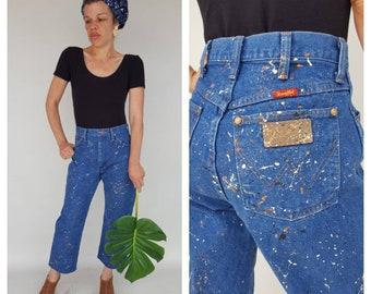 FLASH SALE / High Waisted Jeans / 70s Jeans