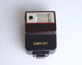 Canon 244T Speed Lite Flash Unit for T-series or FD mount Camera