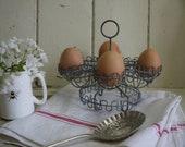 Vintage French Egg Holder...