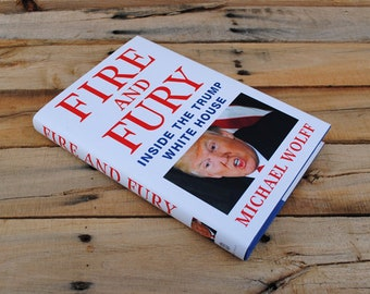 Hollow Book Safe - Fire and Fury - Hollow Secret Book