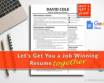 Resume Template Google Docs Resume Template Instant Download Modern Resume Template Google Docs CV Template CV Design Free Resume Template