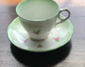 Royal Stafford Tea Cup and Saucer