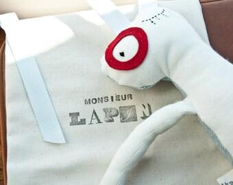 Monsieur Lapin-Plush Rabbit