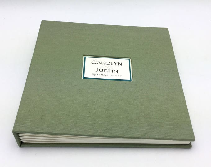 Bright Sage Photo Album - Made to Order - multiple sizes available
