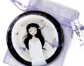 Fluttering Dreams - Pocket Mirror