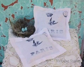 Lavender sachets french inspired