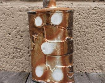 Ceramic Flask.