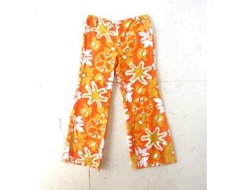 "Vintage 1960s Pants | Golden Days | Hip Hugger Pants | 30"" Waist"