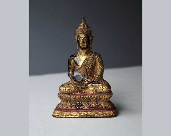 Bronze Buddha Rattanakosin - Thailand - 20th century