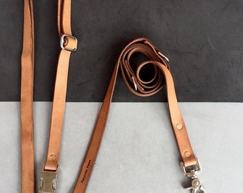 BestFriend The Hands Free Leather Dog Leash