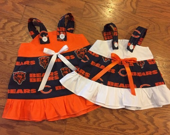 NFL Chicago Bears Baby Infant Toddler Girls Dress  You Pick Size