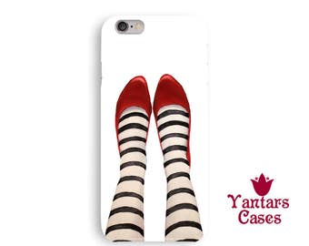 Wicked witch iphone 6 case funny iphone 5 case kids cool iphone 7 case ruby red slippers iphone case fun iphone 8 case legs phone case fine