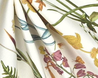 Window Curtain Panels/Floral Curtains/Botanical Curtains/Window Treatments/Botanical Window Treatments/Window Curtain
