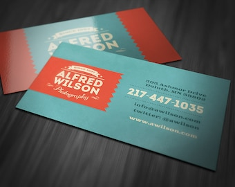 popular items for retro business cards