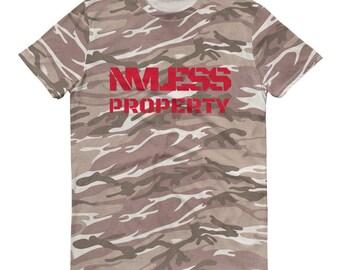 N V Less Short-sleeved camouflage t-shirt