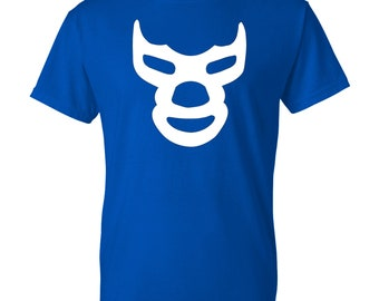 Blue Demon T-Shirt - Lucha Libre Mexicana Playera!