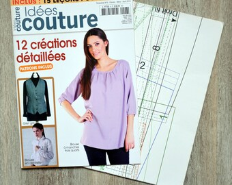 6-12 detailed creations sewing ideas magazine