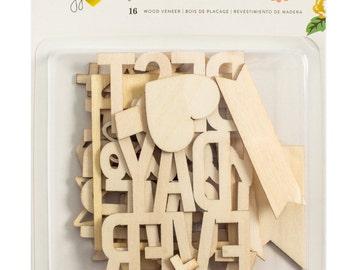 Crate Paper Maggie Holmes Shine Wood Veneer -- MSRP 4.00