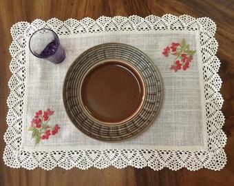 Plate mat