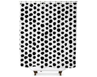 Dalmatian Spot Shower Curtain