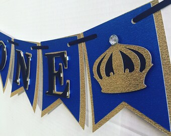 Prince photo prop banner/ high chair banner
