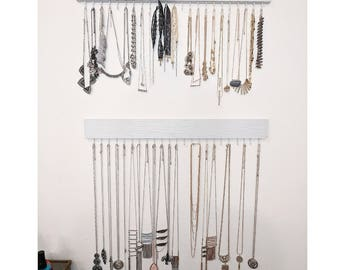 Jewelry/Necklace organizer and holder