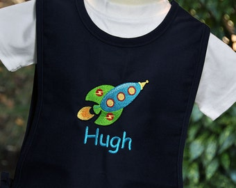 Personalized Art Smock for Kids - Kids Art Smock - Kids Cobbler Apron - Childrens Art Smock - Art Smock for School - Gifts for Kids