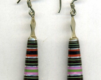 Morocco – modern sterling Silver Berber Earrings
