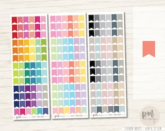 Tiny Flag Stickers - Planner Stickers - FL03