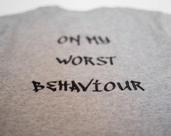 The 'Worst' tshirt