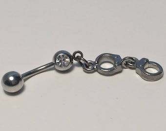 Handcuff Belly Button Ring