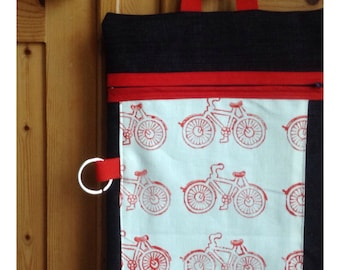 Bike print bike bag for Mother's Day!