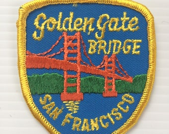Vintage collectible patch - Golden Gate Bridge San Francisco