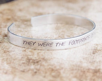 They Were The Footprints Of A Gigantic Hound / Sherlock Holmes Quote Jewelry / The Hound Of The Baskervilles / Sherlock Gift / Literary Gift