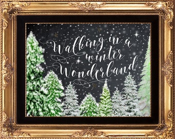christmas printable, christmas print, printable christmas sign, holiday print, Christmas decor, chalkboard christmas print, you print,8 x 10