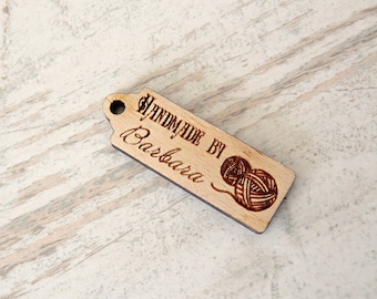 Custom Wood Tags Logo Tags Personalized Tags Business tags Kitting tags Custom wood labels