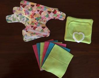 Baby Doll Diaper Set