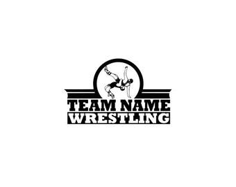 Wrestling, Wrestling svg, High School Wrestling Team, Svg, Dxf, Eps, Ai Silhouette Studio Cricut Design space Cut Files Sport