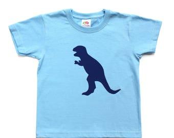 Dinosaur t-shirt, dinosaur shirt, Trex T-shirt, Dinosaur tee, personalised T-shirt, birthday gift