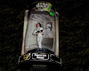 STAR WARS Princess Leia - Epic Force - Rotate Figure (Kenner)