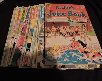 Archie's Joke Book LOT