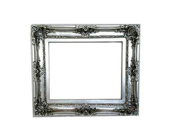 20x24 Large Picture Frame, Ornate Frame, Shabby Chic Frame for Canvas, French Frame, Baroque Frames, Wedding Gift