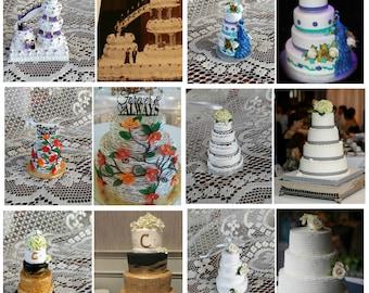 Wedding Cake Replica Made to Order Mini Cake Ornament Cake Look a like
