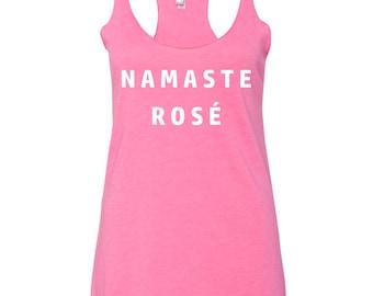 Namaste Rosé Pink Tank