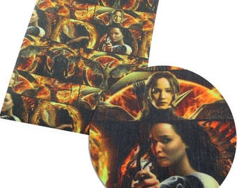 hunger games fabric